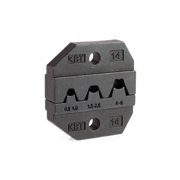 Dies for crimping of non-insulated disconnectors МПК-14
