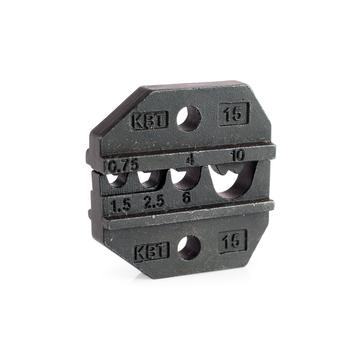 Dies for crimping of non-insulated copper lugs МПК-15