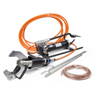 Hydraulic kit for cutting wires under voltage НГПИ-105