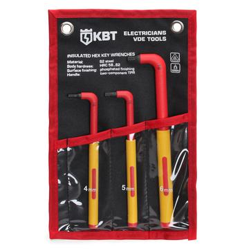 """Profi"" set of 3 dielectric hex keys НИИ-17"