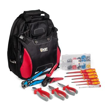 "Tool set НИЭ-10 ""Switchboard mounter's backpack"""