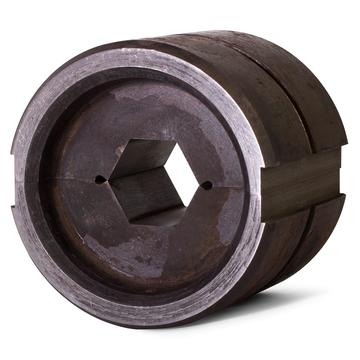 Round hex dies for crimper with output 60 Tons