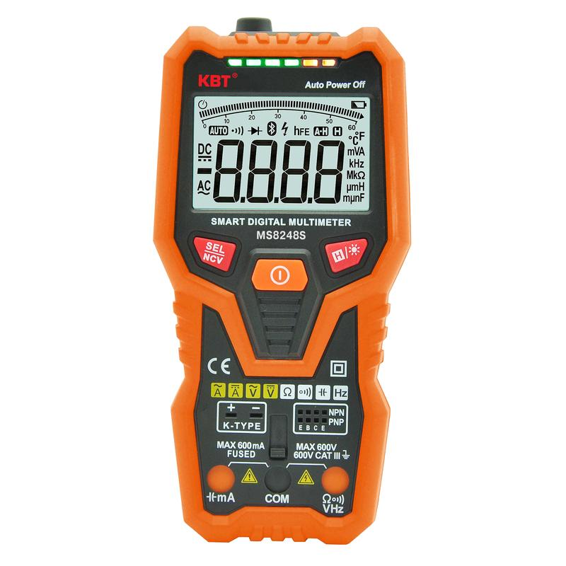 Smart digital multimeter with True RMS and LCR TESTER MS8248S